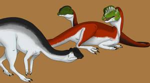Sockeye Dilophosaurus