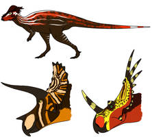 Marginocephalians by StygimolochSpinifer