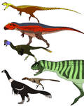 Assorted Theropods
