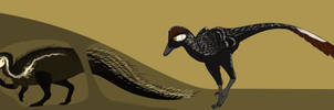Quilled Oryctodromeus by StygimolochSpinifer