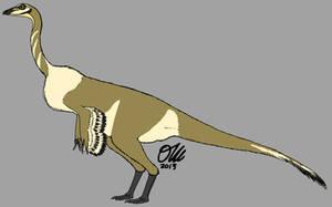 Pronghorn Gallimimus by StygimolochSpinifer
