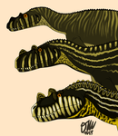 Ceratosaurus Growth Series