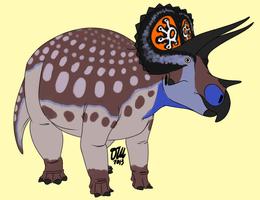 Triceratops by StygimolochSpinifer