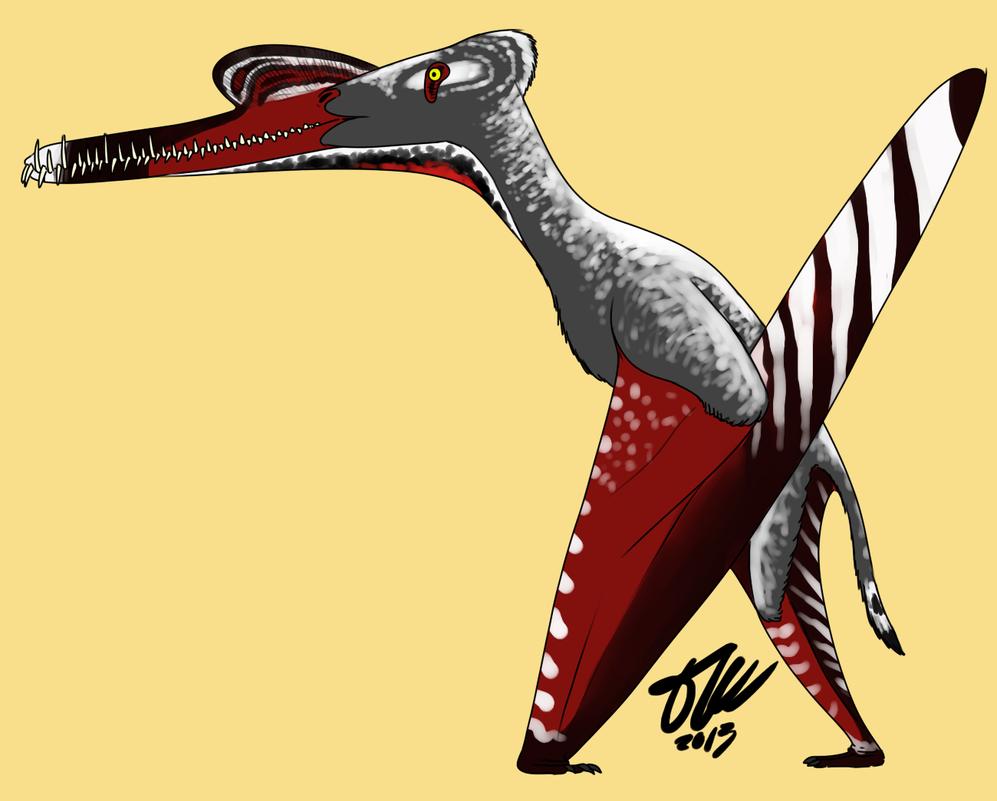 Zhenyuanopterus by StygimolochSpinifer