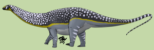 Spotted Apatosaurus