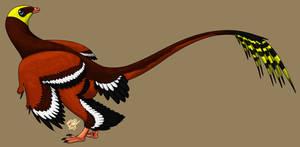 Jeholornis by StygimolochSpinifer