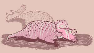 31 Day Palette Challenge - Regaliceratops