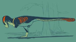 31 Day Palette Challenge - Dakotaraptor