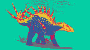 31 Day Palette Challenge - Alcovasaurus