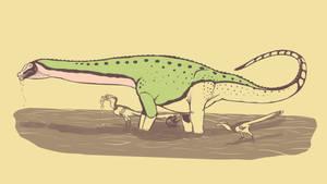 31 Day Palette Challenge - Sarmientosaurus