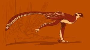 31 Day Palette Challenge - Zhongjianosaurus