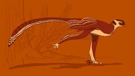 31 Day Palette Challenge - Zhongjianosaurus by StygimolochSpinifer