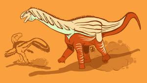 31 Day Palette Challenge - Mierasaurus