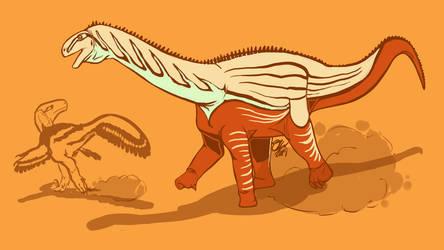 31 Day Palette Challenge - Mierasaurus by StygimolochSpinifer
