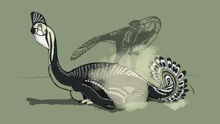 31 Day Palette Challenge - Corythoraptor by StygimolochSpinifer