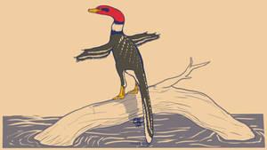 31 Day Palette Challenge - Halszkaraptor