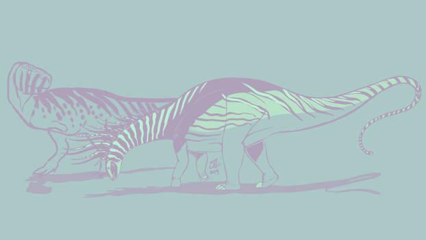 31 Day Palette Challenge - Bajadasaurus