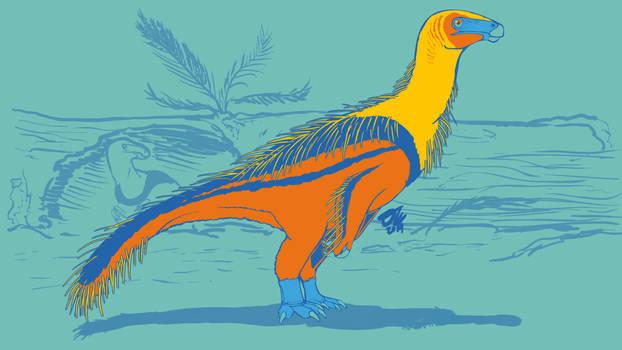 31 Day Palette Challenge - Lingyuanosaurus