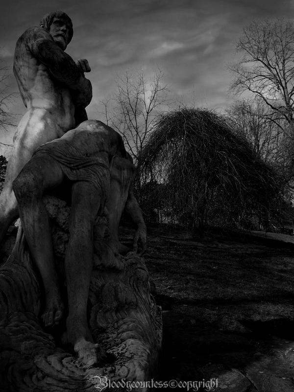 The death and the tree by CountessBloody