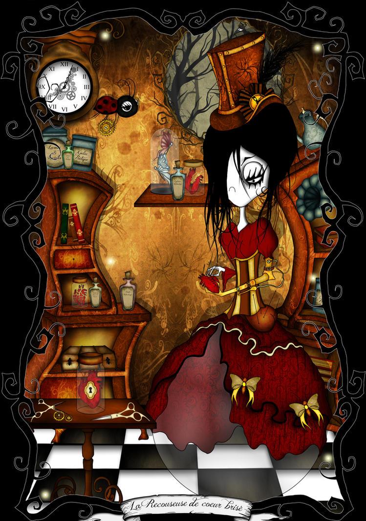 La recouseuse de coeur brise by CountessBloody