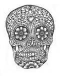 CFD sugar skull