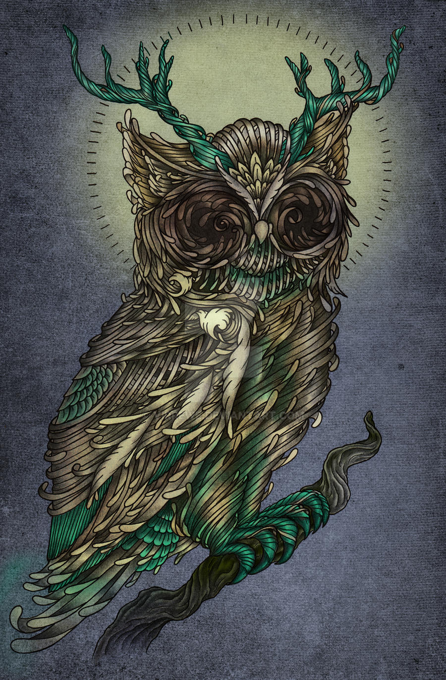 The Owlking by virrewe