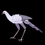 Secretary Bird Pixel (FTU)