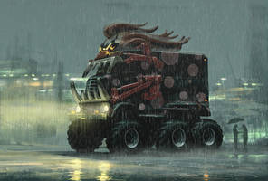 Twisted Metal - Dark Tooth by REDVAMPIRE120652