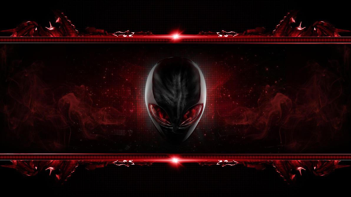 Alienware Wallpaper by REDVAMPIRE120652