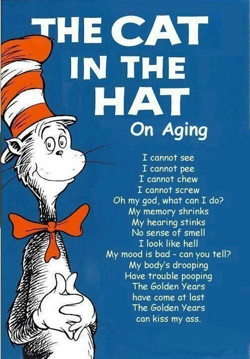 The Cat In The Hat On Aging by REDVAMPIRE120652