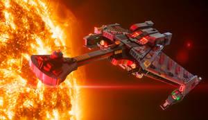 Lego Klingon Battle Cruiser