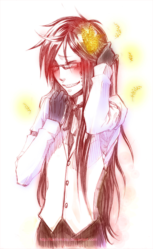 Kuro .Grell for Ladies Day. by ItanHimitsu