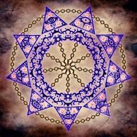 Magic Circle 9 - Cage by DAZUMA