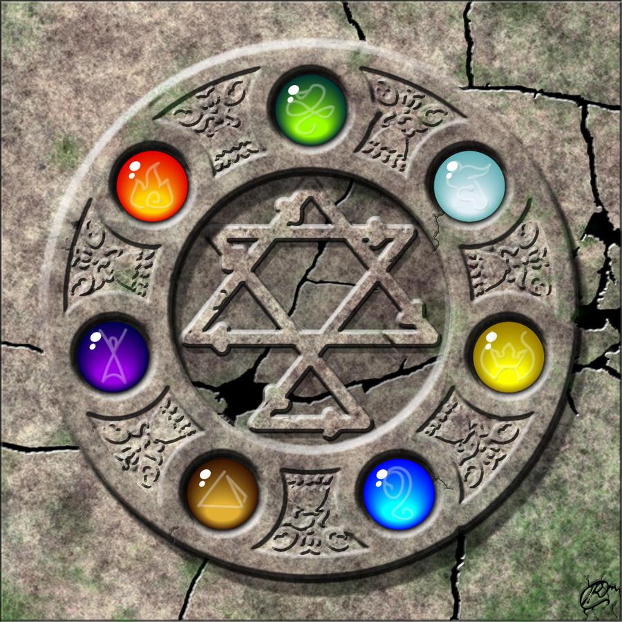 Stone Circle by DAZUMA