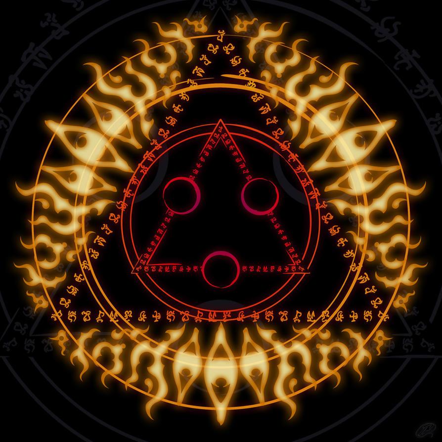 Magic circle 3 - Spirit by DAZUMA