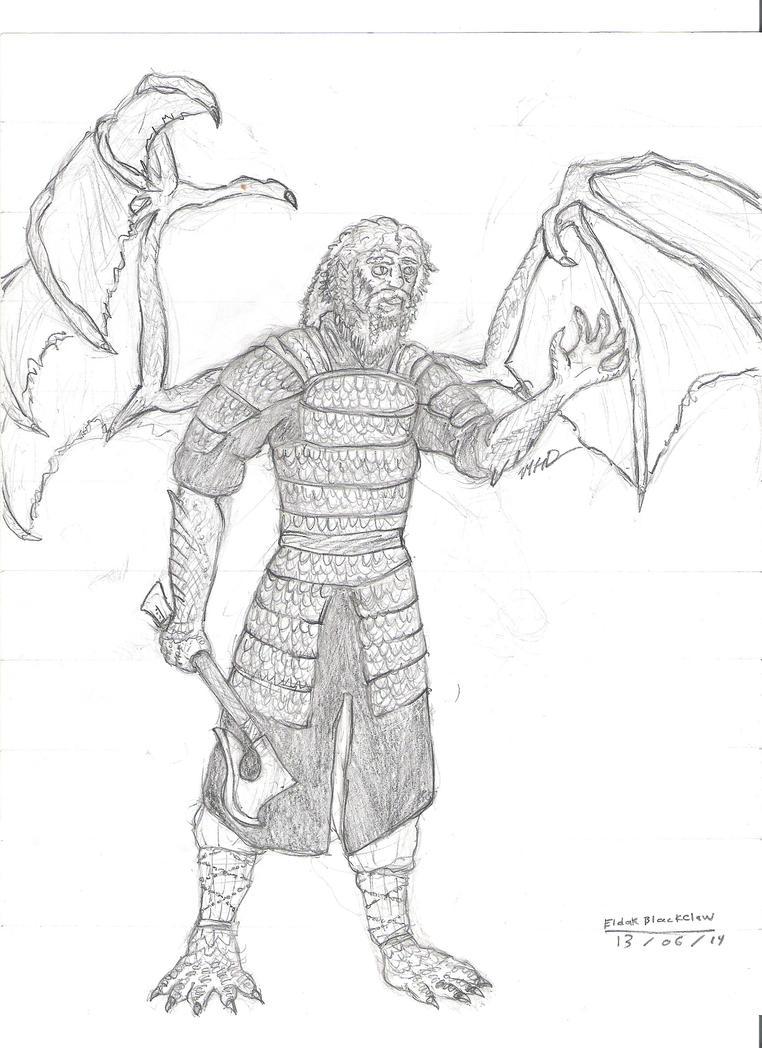 Eldak Blackclaw by Galihan