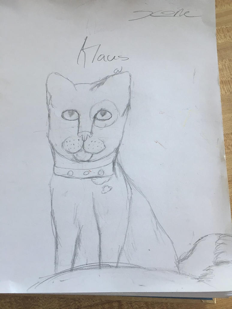 Klaus Sketch  by SconeSCM