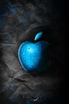 Iphone Dark Apple Wallpaper