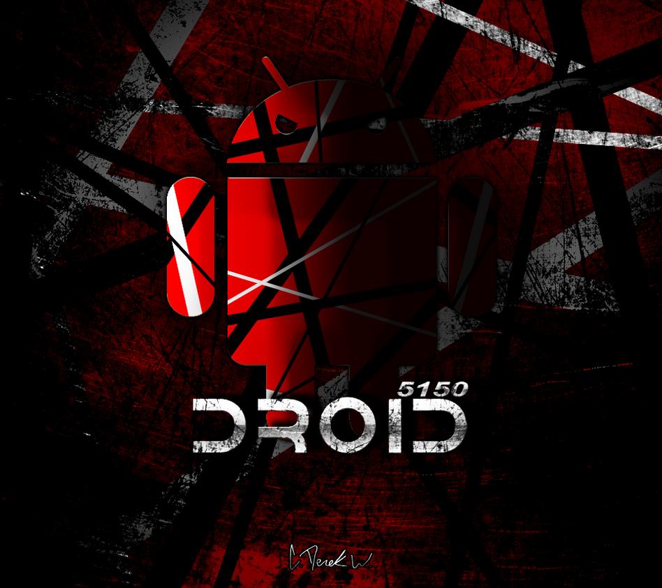 5150 EVH Droidx Evil Wallpaper By Cderekw