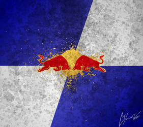 Red Bull Droid X Wallpaper by cderekw
