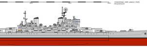 HMS Jutland, 1949