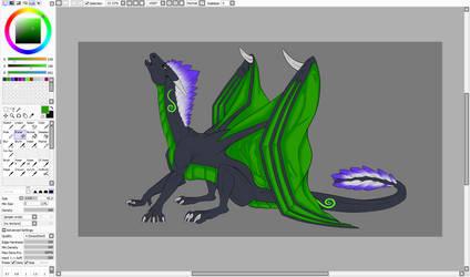 Work In Progress by HowlerDragon