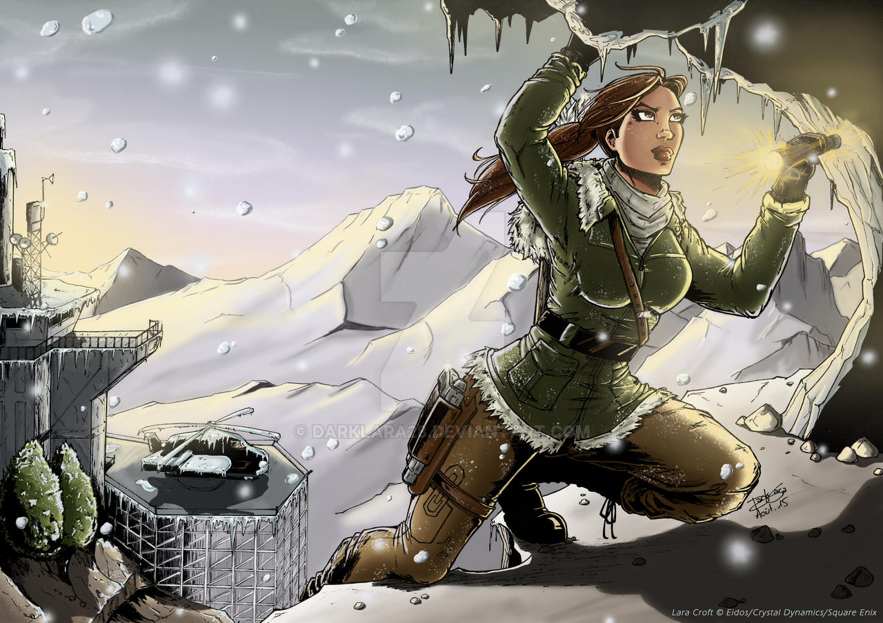 Rise of the Tomb Raider - Climbing (colo)