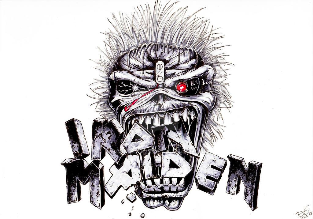 Iron Maiden - Book of Souls by DarkLara28