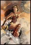 Wonder Woman - Protect (colo)
