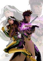 X-men - Malicia and Gambit