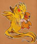 Ziggy and Plush Duck