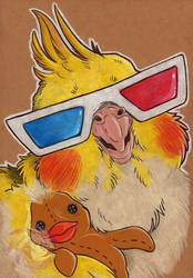 Ziggy 3D glasses by Idlewings