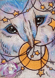 Dreamcatcher ACEO by Idlewings
