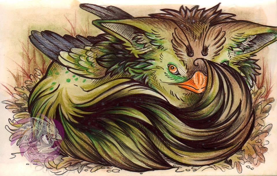 Marsh Gryphling by Idlewings